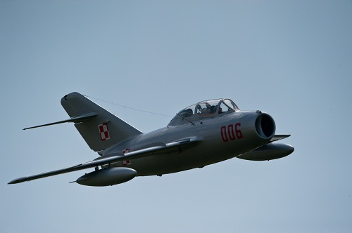 MiG-15 Flight in Poland