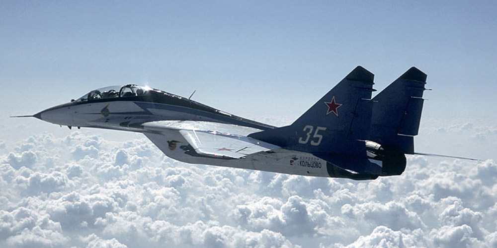 Monica flew the MiG-29 Jet with FlyFighterJet