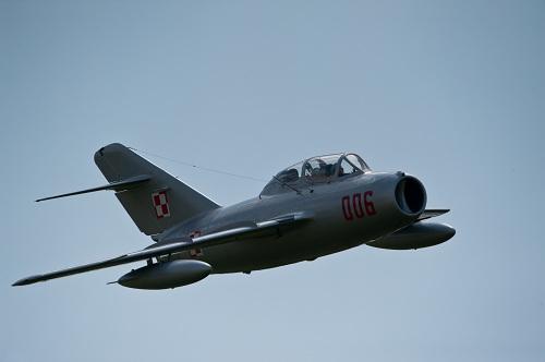 MiG-15 Flight in Poland