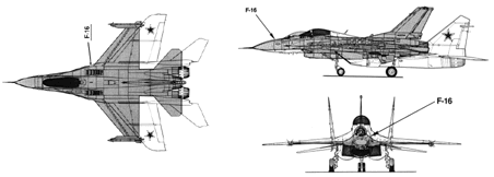 MiG-29 vs. F-16 - the two fighter jets compared